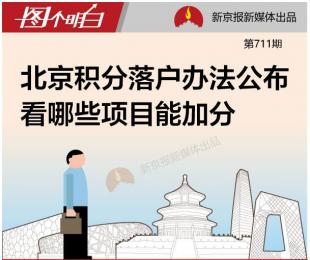 【图真相】北京积分落户办法公布 看看哪些项目能加分